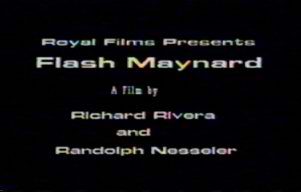Flash Maynard Title Card